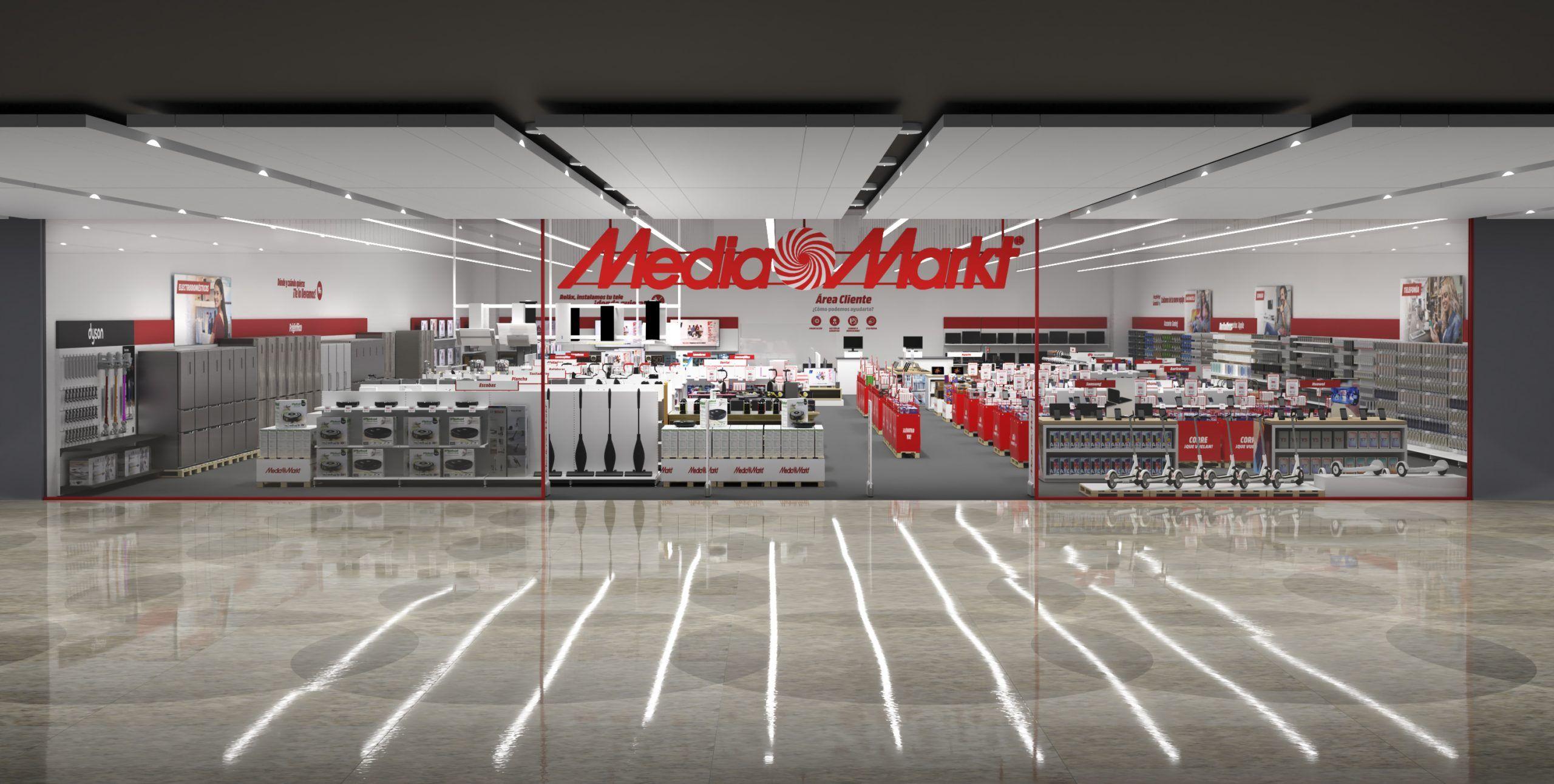 Diseño 3D tienda y escaparate